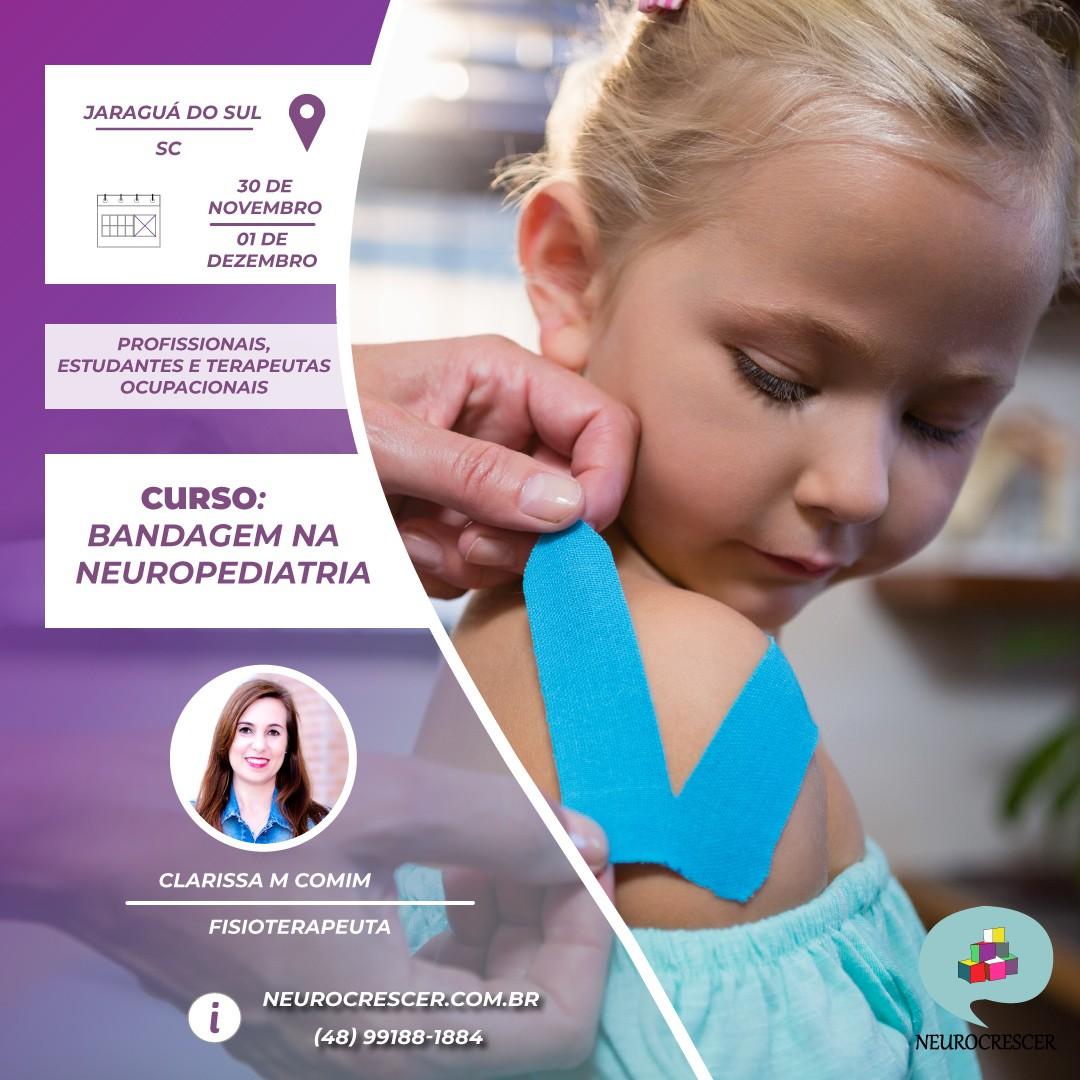 Banner Curso de Bandagem na Neuropediatria