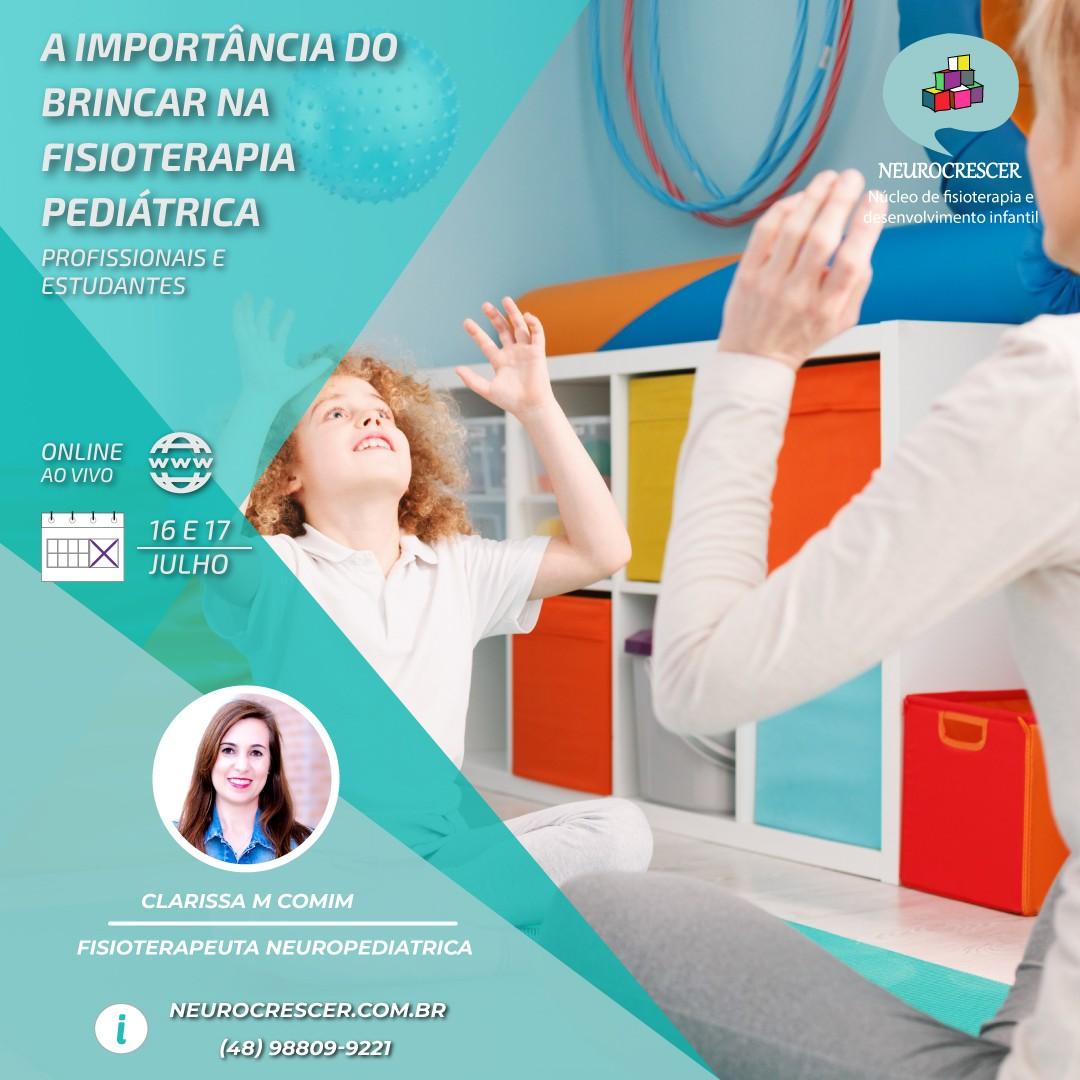 Importância do brincar na fisioterapia pediátrica
