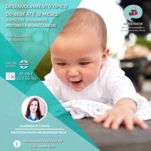 banner Desenvolvimento Típico do bebê até 18 meses